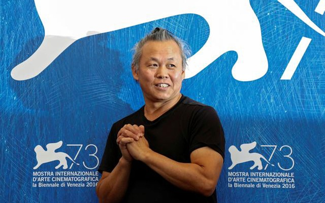 Director Kim Ki-duk attends the photocall for the movie