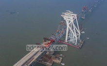 Padma Bridge bursts into full view with the final span installed