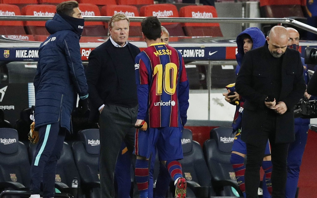 Winning Was All That Mattered Says Koeman After Scrappy Barca Win