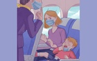 Flying with a small child is difficult enough — now try to get one to keep their mask on. The New York Times