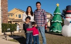 Bianca Barragán at home with her husband Gabriel Chavez and their two children, Santiago, 6, and Sofia, 4, in San Antonio, Dec 16, 2020. Like so many other parents, Barragán has taken on an additional role during the pandemic: She is essentially a teacher for her children who are enrolled in a bilingual programme but studying from home. Tramaine Townsend/The New York Times
