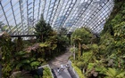 FILE -- The Cloud Forest dome at the Garden by the Bay, in Singapore on March 19, 2020. You can feel like you are in the Lion City with a little work in the kitchen, the right book and some time in front of the TV. (Ore Huiying/The New York Times)