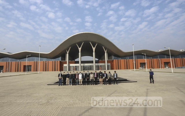 The Bangladesh-China Friendship Exhibition Centre in Dhaka's Purbachal is all set to host the 26th edition of the Dhaka International Trade Fair. Photo: Asif Mahmud Ove