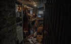 Franco A in his ''prepper'' basement in Offenbach, Germany, July 10, 2020. The New York Times