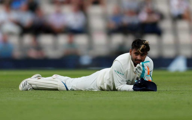 Cricket - England v India - Fourth Test - Ageas Bowl, West End, Britain - August 30, 2018 India's Rishabh Pant looks dejected. REUTERS