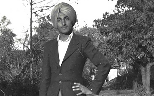 A photo provided by the Kapany family, Dr Narinder Singh Kapany as a young man in the 1940s. Kapany, a physicist and entrepreneur who cut an imposing figure and did more than anyone to make optical research a priority in government and corporate budgets, died in Redwood City, Cali, on Dec 3, 2020. He was 94. Kapany family via The New York Times
