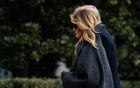 President Donald Trump and first lady Melania Trump arrive at the White House in Washington on Dec. 31, 2020, after a trip to Florida. After remaining silent for five days following the riot at the Capitol instigated by her husband, Melania Trump, the first lady, issued a statement on Monday complaining about how she had been treated before going on to condemn the deadly mob attack. (Anna Moneymaker/The New York Times)