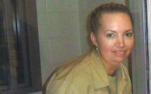 Lisa Montgomery, a federal prison inmate scheduled for execution. Pictured at the Federal Medical Center (FMC) Fort Worth in an undated photograph. REUTERS