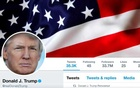 FILE PHOTO: The masthead of US President Donald Trump's @realDonaldTrump Twitter account is seen on July 11, 2017. @realDonaldTrump/Handout/File Photo via REUTERS