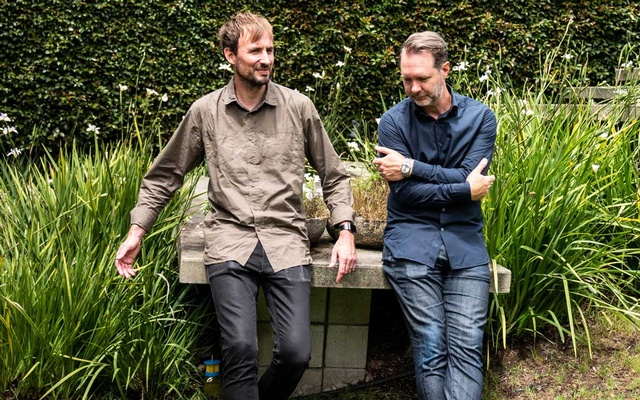 Karl von Randow, left, and Matthew Buchanan, co-founders of Letterboxd, in Auckland, New Zealand. Jan 10, 2021. The New York Times