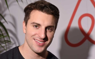 Airbnb Chief Executive Brian Chesky poses for Reuters in Los Angeles, California, US November 17, 2016. REUTERS