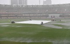 Australia frustrated as rain dampens Gabba decider
