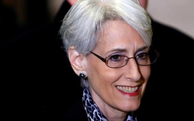 Wendy Sherman arrives for a meeting on Syria at the United Nations European headquarters in Geneva February 13, 2014. Reuters