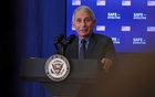 Dr Anthony Fauci, director of the National Institute of Allergy and Infectious Diseases, speaks at an event where US Vice President Mike Pence received the coronavirus disease (COVID-19) vaccine at the White House in Washington, US, December 18, 2020. REUTERS