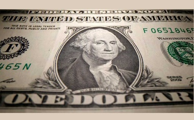 A US Dollar banknote is seen in this illustration taken May 26, 2020. REUTERS