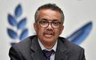 World Health Organization (WHO) Director-General Tedros Adhanom Ghebreyesus in Geneva Switzerland Jul 3, 2020. REUTERS/FILE