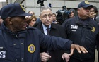 FILE-- Sheldon Silver, once the State Assembly Speaker, leaves the US Courthouse after his sentencing for corruption charges, in New York, May 3, 2016. Silver is among those under consideration for grants of clemency by President Donald Trump. (Gregg Vigliotti/The New York Times