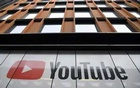 YouTube signage is seen at their offices in King's Cross, London, Britain, September 11, 2020. REUTERS