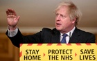 British Prime Minister Boris Johnson gestures as he speaks during a coronavirus news conference at 10 Downing Street, London, Britain January 22, 2021. Leon Neal/Pool via Reuters