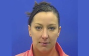 This driver's license photo from the Maryland Motor Vehicle Administration, provided by the Calvert County Sheriff's Office, shows Ashli Babbitt, who was fatally shot by an employee of the Capitol Police inside the US Capitol building in Washington on Wednesday, Jan 6, 2021. The New York Times