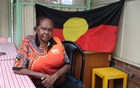 Indigenous Muruwari elder Rita Wright, a member of the