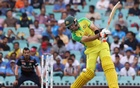 Cricket - Second One Day International - Australia v India - Sydney Cricket Ground, Sydney, Australia - November 29, 2020 Australia's Glenn Maxwell in action. REUTERS
