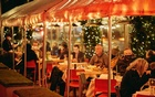 Patrons dine in the outdoor dining area at the Odeon in New York's TriBeCa neighbourhood, on Jan 18, 2021. (Zack DeZon/The New York Times)
