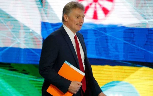 Kremlin spokesman Dmitry Peskov arrives to the Russian President Vladimir Putin's annual news conference in Moscow, Russia December 20, 2018. REUTERS