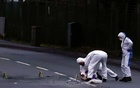 Police forensic officers work outside the Wockhardt pharmaceutical plant in Wrexham, Britain January 27, 2021. REUTERS