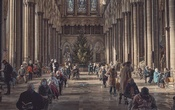 Salisbury Cathedral functions as a COVID-19 vaccination site in Salisbury, England on Jan 23 2021. The New York Times
