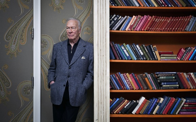 The actor Christopher Plummer in New York on Dec. 17, 2011. Plummer, the prolific and versatile Canadian-born actor who rose to celebrity as the romantic lead in perhaps the most popular movie musical of all time, was critically lionised as among the pre-eminent Shakespeareans of the past century and won an Oscar, two Tonys and two Emmys, died on Friday, Feb. 5, 2021, at his home in Weston, Conn. He was 91. (Chad Batka/The New York Times)
