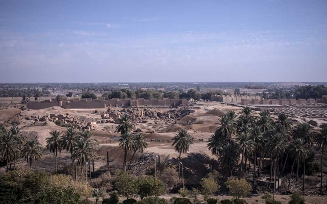 A view of the ancient city of Babylon in Iraq, Jan 31, 2021. Abdullah Dhiaa Al-deen/The New York Times