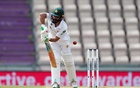 Cricket - Third Test - England v Pakistan - Ageas Bowl, Southampton, Britain - August 23, 2020 Pakistan's Fawad Alam in action, as play resumes behind closed doors following the outbreak of the coronavirus disease (COVID-19). REUTERS