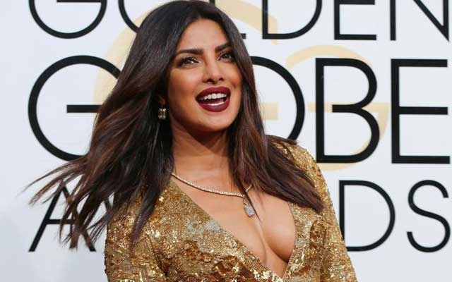 File Photo: Actress Priyanka Chopra arrives at the 74th Annual Golden Globe Awards in Beverly Hills, California, US, January 8, 2017. REUTERS/Mike Blake/File Photo
