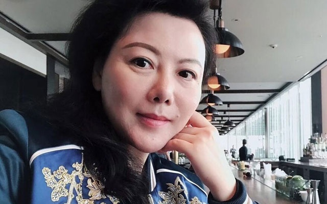 An image of Geng Xiaonan from her Weibo page. Her friends say Ms Geng is set to stand trial in Beijing on Tuesday and may spend years in prison.