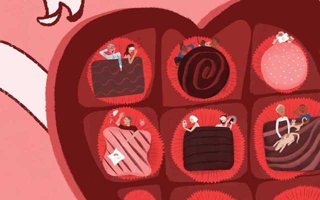 This year, even those who usually go all out on Feb 14 are reconsidering. The New York Times