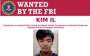 Kim Il, 27, one of three North Korean computer programmers charged with a massive hacking spree aimed at stealing more than $1.3 billion in money and cryptocurrency, is seen on a Federal Bureau of Investigation wanted notice released February 17, 2021. FBI/Handout via REUTERS
