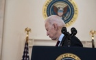 President Joe Biden after speaking about the lives lost to COVID-19, as the United States surpassed a half-million deaths, at the White House in Washington on Monday, Feb 22, 2021. The New York Times