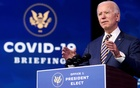 US President-elect Joe Biden delivers remarks on the US response to the coronavirus disease (COVID-19) outbreak, at his transition headquarters in Wilmington, Delaware, US, December 29, 2020. REUTERS