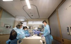 A medical team intubates a COVID-19 patient at Marian Regional Medical Center in Santa Maria, Calif, Feb 8, 2021. A variant first discovered in California in December is more contagious than earlier forms of the coronavirus, two new studies have shown, fuelling concerns that emerging mutants like this one could hamper the sharp decline in cases over all in the state and perhaps elsewhere. Daniel Dreifuss/The New York Times