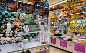 A game centre in Tokyo featuring anime-inspired prizes on Jan 14, 2021. An activist says the government shows little interest in protecting animators from overwork. Noriko Hayashi/The New York Times