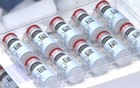 Vials of Johnson & Johnson's Janssen coronavirus disease (COVID-19) vaccine candidate are seen in an undated photograph. Johnson & Johnson via REUTERS
