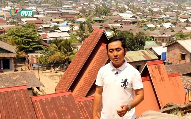 Kaung Myat Hlaing (also known as Aung Kyaw), a journalist with the Democratic Voice of Burma (DVB) poses in unknown location in this picture obtained by Reuters on March 2, 2021. DVB TV/Handout via Reuters