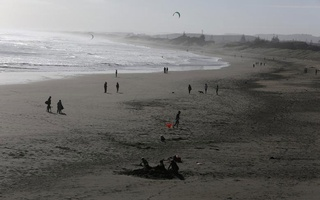 Representational Image: People enjoy Muriwai Beach in the wake of New Zealand easing strict regulations implemented to curb the spread of the coronavirus disease (COVID-19) near Auckland, New Zealand, April 28, 2020. Reuters