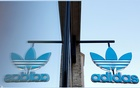 An Adidas shop is seen as the spread of coronavirus disease (COVID-19) continues in Berlin, Germany, April 20, 2020. REUTERS