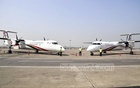 Dash-8 Q400 aircraft 'Akashtari' and 'Swetbalaka' were added to the Biman Bangladesh Airlines fleet. Prime Minister Sheikh Hasina inaugurated the planes via video conferencing from the Ganabhaban on Sunday, Mar 14, 2021. Photo: PMO
