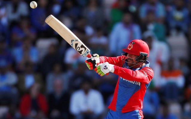 Cricket - ICC Cricket World Cup - India v Afghanistan - The Ageas Bowl, Southampton, Britain - June 22, 2019 Afghanistan's Rashid Khan in action Action. REUTERS