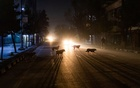 Dogs roam a street in Kabul, Afghanistan, Feb 28, 2021. Almost every city in the world has to deal with street crime, and some with dog packs. But few, if any, have to navigate such an underworld while also confronting unrelenting war. (Jim Huylebroek/The New York Times)