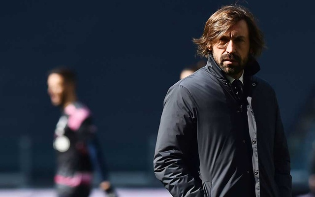 Football - Serie A - Juventus v Benevento - Allianz Stadium, Turin, Italy - March 21, 2021 Juventus coach Andrea Pirlo before the match. REUTERS