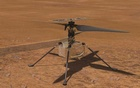 In an undated image provided by NASA/JPL-Caltech, an animation depicting the test flight of NASA's Ingenuity helicopter on Mars. NASA/JPL-Caltech via The New York Times
